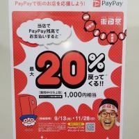 PayPay祭り再び(-ω-)/