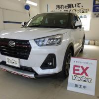 25台目施工&クリスタルキーパー初施工!!