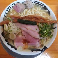 秋限定!!秋刀魚出汁「潮」中華そば