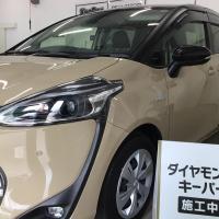 シエンタにダイヤモンドキーパー★☆