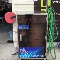 「純水」手洗い洗車デビュー!
